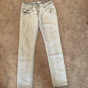 Denim - Light gray women's jeans